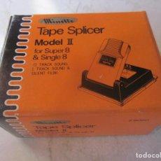 Cine: EMPALMADORA MINETTE TAPE SPLICER II FOR SUPER 8 & SINGLE 8. Lote 108682587