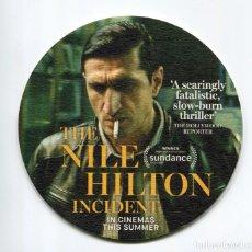 Cine: THE NILE HILTON INCIDENT. POSAVASOS.. Lote 109734327