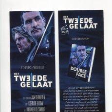 Cinema: DOBLE CARA, DE JAN VERHEYEN. MARCAPÁGINAS.. Lote 109738751