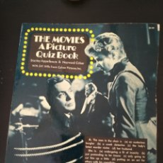 Cine: THE MOVIES:A PICTURE QUIZ BOOK CINEMA.128PAGS,241FOTOS Y PREGUNTAS TEST SOBRE LOS CLÁSICOS.VER FOTOS. Lote 110044307