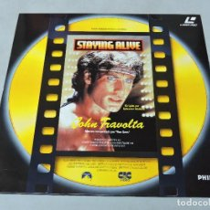 Cine: STAYING ALIVE - LASER DISC PAL. Lote 177334920