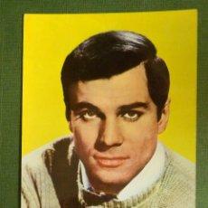 Cine: POSTAL - ACTORES Y ACTRICES - 172.- GEORGE MAHARIS - TORO DE BRONCE - 1964 - SIN ESCRIBIR. Lote 112090655
