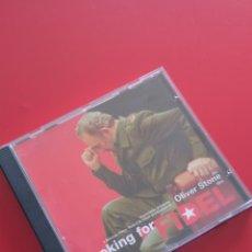 Cinema: CD. LOOKING FOR FIDEL. KIT DE PRENSA, PRESS KIT. OLIVER STONE. PRESSBOOK PROMOCIONAL PRESS BOOK.. Lote 112616234