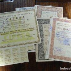 Cine: CINE.ACCIONES DE CIFESA AÑOS 1936-41-42-43-46.. Lote 112767795