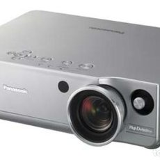 Cine: PROYECTOR PANASONIC PT AE 900 HD READY 720P COMPATIBLE 1080P. Lote 113018199