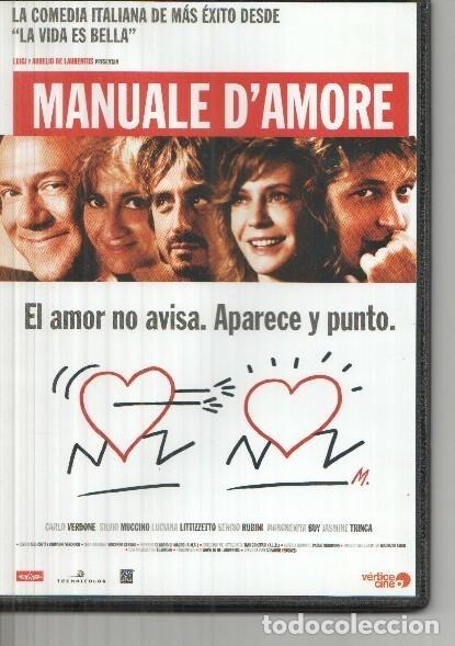 Dvd Manuale D Amore Carlo Verdone Silvio Muc Comprar En
