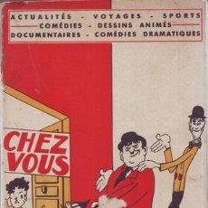 Cine: CATALOGUE GENERAL DES FILMS DE LA CINEMATHEQUE KODASCOPE 8M/M.. Lote 113931335