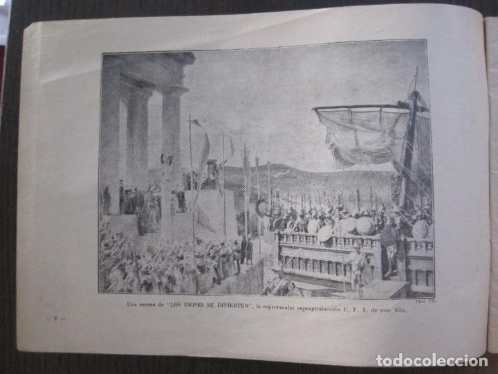 Cine: MANUAL PUBLICIDAD UFA -ALIANZA CINEMATOGRAFICA ESPAÑOLA -AÑO 1935- 36 -VER FOTOS-(V-13.753) - Foto 5 - 114798639