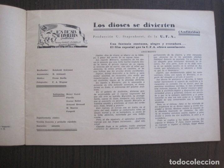 Cine: MANUAL PUBLICIDAD UFA -ALIANZA CINEMATOGRAFICA ESPAÑOLA -AÑO 1935- 36 -VER FOTOS-(V-13.753) - Foto 6 - 114798639