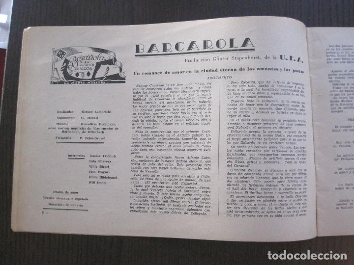 Cine: MANUAL PUBLICIDAD UFA -ALIANZA CINEMATOGRAFICA ESPAÑOLA -AÑO 1935- 36 -VER FOTOS-(V-13.753) - Foto 7 - 114798639