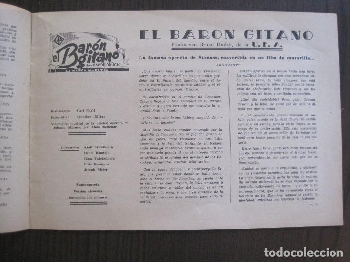 Cine: MANUAL PUBLICIDAD UFA -ALIANZA CINEMATOGRAFICA ESPAÑOLA -AÑO 1935- 36 -VER FOTOS-(V-13.753) - Foto 8 - 114798639