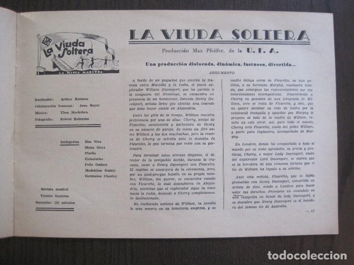 Cine: MANUAL PUBLICIDAD UFA -ALIANZA CINEMATOGRAFICA ESPAÑOLA -AÑO 1935- 36 -VER FOTOS-(V-13.753) - Foto 10 - 114798639