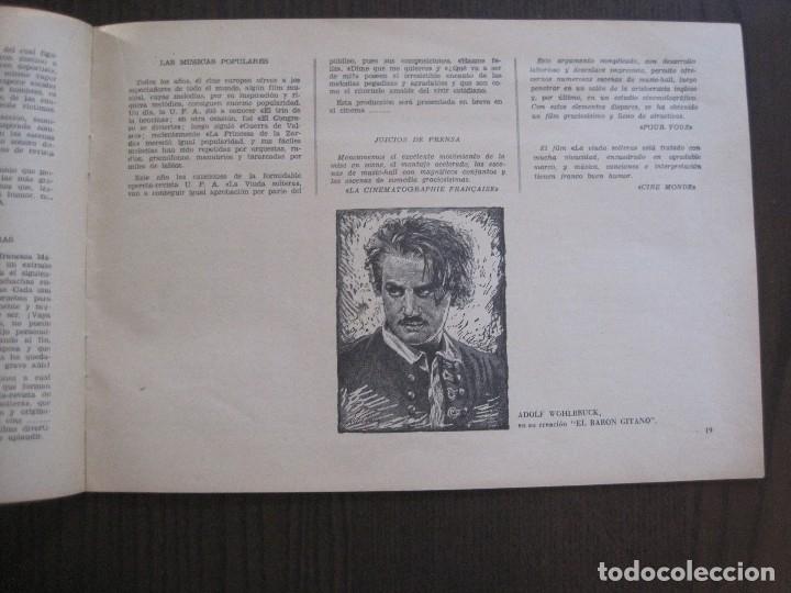 Cine: MANUAL PUBLICIDAD UFA -ALIANZA CINEMATOGRAFICA ESPAÑOLA -AÑO 1935- 36 -VER FOTOS-(V-13.753) - Foto 11 - 114798639