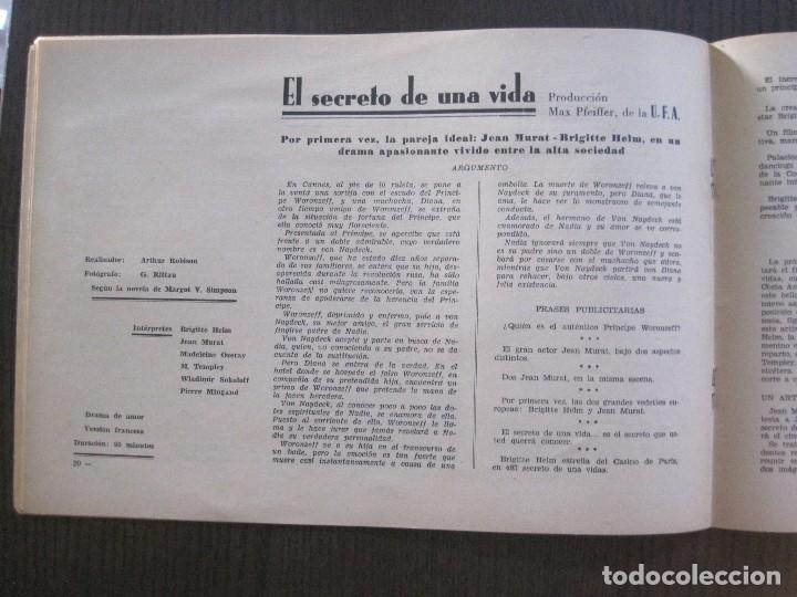 Cine: MANUAL PUBLICIDAD UFA -ALIANZA CINEMATOGRAFICA ESPAÑOLA -AÑO 1935- 36 -VER FOTOS-(V-13.753) - Foto 12 - 114798639