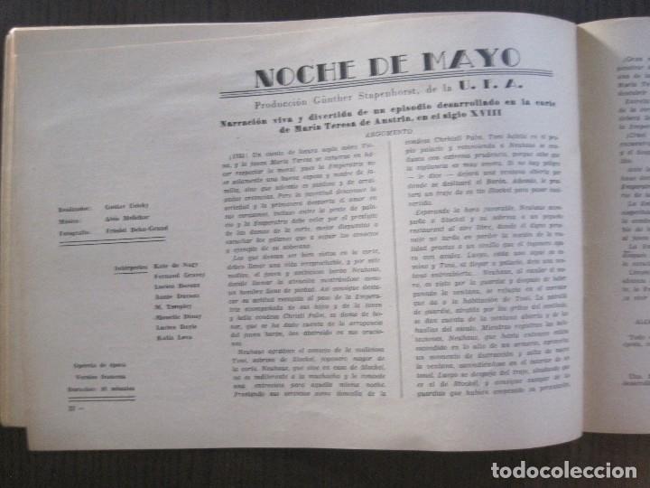 Cine: MANUAL PUBLICIDAD UFA -ALIANZA CINEMATOGRAFICA ESPAÑOLA -AÑO 1935- 36 -VER FOTOS-(V-13.753) - Foto 13 - 114798639
