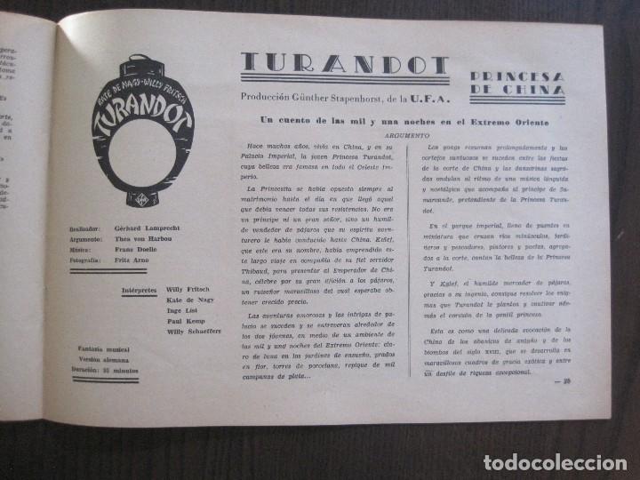 Cine: MANUAL PUBLICIDAD UFA -ALIANZA CINEMATOGRAFICA ESPAÑOLA -AÑO 1935- 36 -VER FOTOS-(V-13.753) - Foto 14 - 114798639