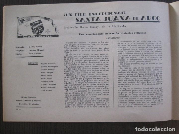 Cine: MANUAL PUBLICIDAD UFA -ALIANZA CINEMATOGRAFICA ESPAÑOLA -AÑO 1935- 36 -VER FOTOS-(V-13.753) - Foto 17 - 114798639