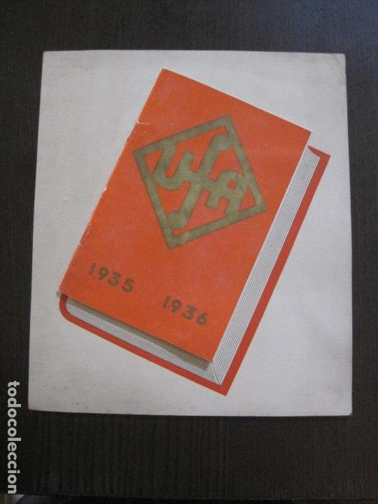 PUBLICIDAD UFA -ALIANZA CINEMATOGRAFICA ESPAÑOLA-PELICULAS AÑO 1935- 36 -VER FOTOS-(V-13.754) (Cine - Varios)