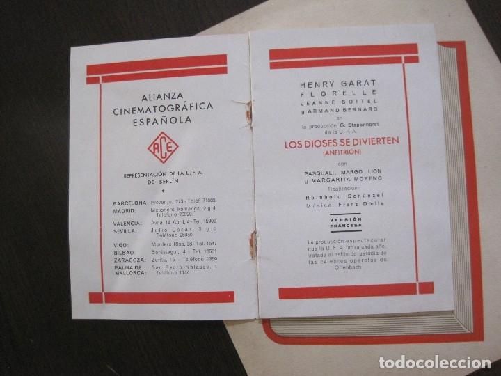 Cine: PUBLICIDAD UFA -ALIANZA CINEMATOGRAFICA ESPAÑOLA-PELICULAS AÑO 1935- 36 -VER FOTOS-(V-13.754) - Foto 4 - 114799619