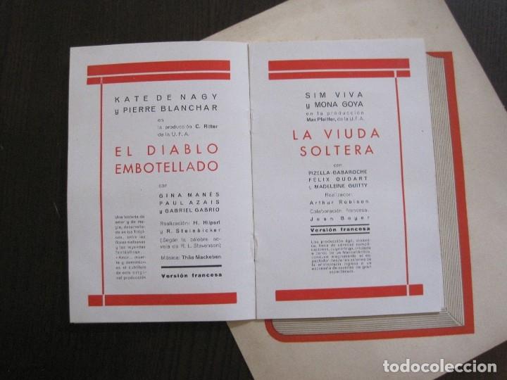Cine: PUBLICIDAD UFA -ALIANZA CINEMATOGRAFICA ESPAÑOLA-PELICULAS AÑO 1935- 36 -VER FOTOS-(V-13.754) - Foto 6 - 114799619