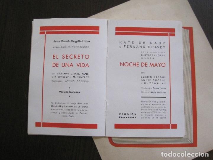 Cine: PUBLICIDAD UFA -ALIANZA CINEMATOGRAFICA ESPAÑOLA-PELICULAS AÑO 1935- 36 -VER FOTOS-(V-13.754) - Foto 7 - 114799619