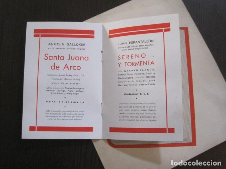 Cine: PUBLICIDAD UFA -ALIANZA CINEMATOGRAFICA ESPAÑOLA-PELICULAS AÑO 1935- 36 -VER FOTOS-(V-13.754) - Foto 10 - 114799619