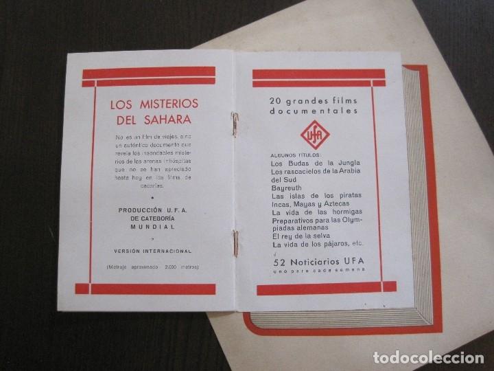 Cine: PUBLICIDAD UFA -ALIANZA CINEMATOGRAFICA ESPAÑOLA-PELICULAS AÑO 1935- 36 -VER FOTOS-(V-13.754) - Foto 12 - 114799619