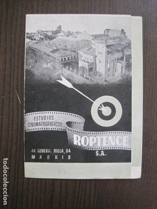 PUBLICIDAD ROPTENCE S.A. - ESTUDIOS CINEMATOGRAFICOS -VER FOTOS-(V-13.757) (Cine - Varios)
