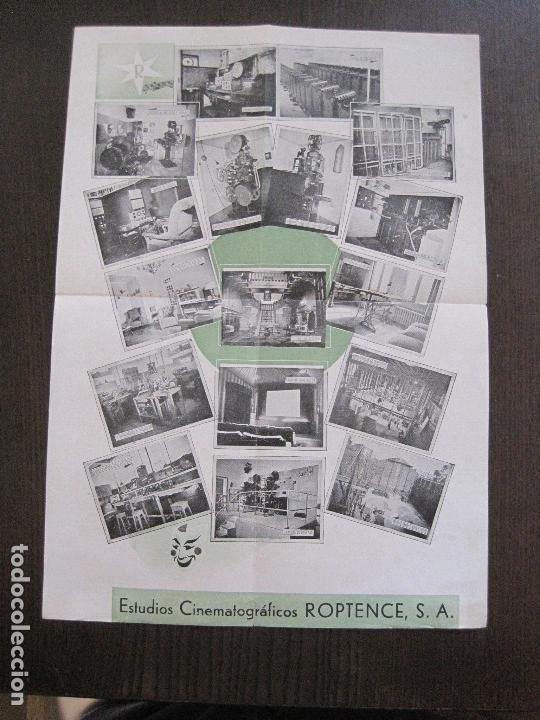 Cine: PUBLICIDAD roptence s.a. - ESTUDIOS CINEMATOGRAFICOS -VER FOTOS-(V-13.757) - Foto 4 - 114803683