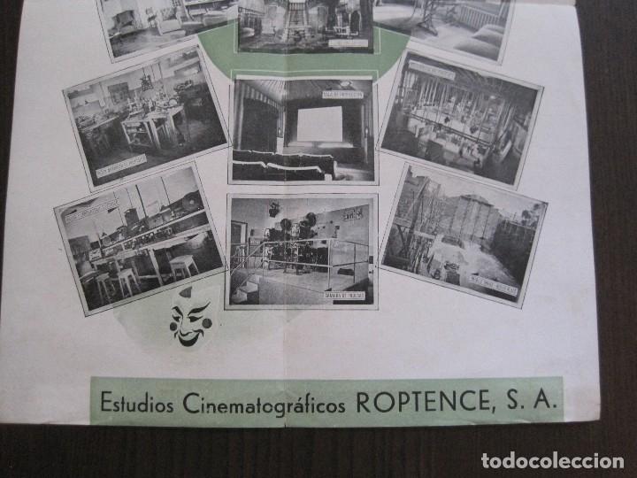 Cine: PUBLICIDAD roptence s.a. - ESTUDIOS CINEMATOGRAFICOS -VER FOTOS-(V-13.757) - Foto 6 - 114803683