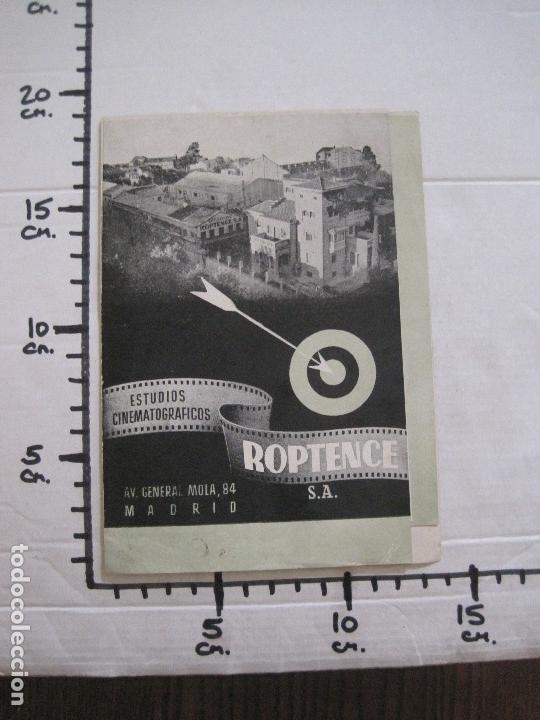 Cine: PUBLICIDAD roptence s.a. - ESTUDIOS CINEMATOGRAFICOS -VER FOTOS-(V-13.757) - Foto 7 - 114803683