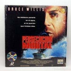 Cinema: PERSECUCION MORTAL - LASERDISC - LASER DISC - BRUCE WILLIS. Lote 115034163