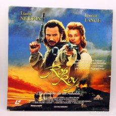 Cinema: ROB ROY - LA PASION DE UN REBELDE - LASERDISC - LASER DISC - DOBLE DISCO - LIAM NEESON JESSICA LANCE. Lote 115035099