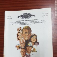 Cine: REVISTA CINE - CINEMATOGRAFICA ESPAÑOLA - LA SOMBRA DE UN GIGANTE - Nº - 286 - ENERO 1978 - TDKR19. Lote 115305782