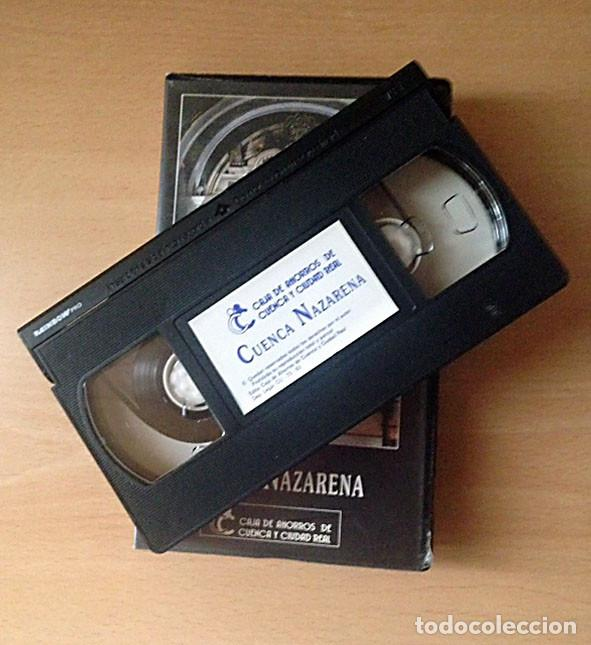 Cine: VHS - CUENCA NAZARENA - SEMANA SANTA CUENCA - DOCUMENTAL - Foto 3 - 115516151