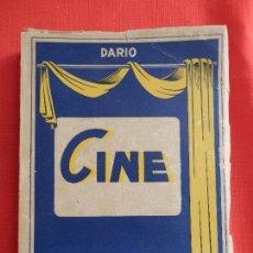 Cine: CINE CUENTOS Y VERDADES, EDIT. SALA VICH 1950, LIBRO BOLSILLO 230 PAGINAS. Lote 116277683