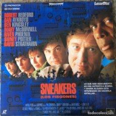 Cine: SNEAKERS - LOS VISGONES . LASER DISC . Lote 116694047