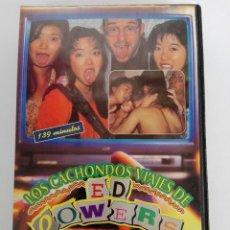 Cine: VHS - LOS CACHONDOS VIAJES DE ED POWERS - YUKA KAWAMURA, JUN KAKAMOTO - CLASIFICADAX. Lote 120564431