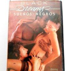 Cine: VHS - SUEÑOS NEGROS - LAURYL CANYON, NINA DE PONCA, RON JEREMY - CLASIFICADAX. Lote 120567331