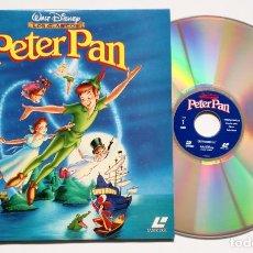 Cine: LASER DISC - PETER PAN - VERSION ESPAÑOLA - CLÁSICOS WALT DISNEY - LASERDISC. Lote 251260950