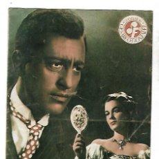 Cine: FOLLETO CINEMATOGRAFICO. EL NEGRO QUE TENIA EL ALMA BLANCA. CESAREO GONZALEZ. VER. Lote 125058039