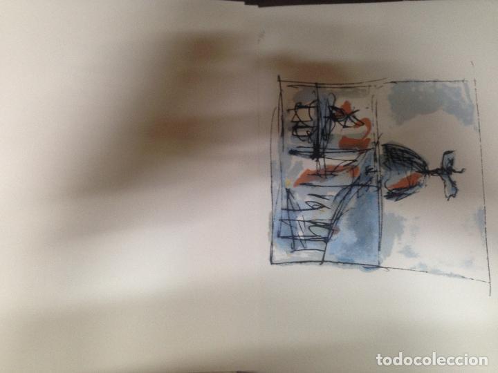 Cine: INCREIBLE Y ESCASA CARPETA CON 8 DIBUJOS SERIGRAFIAS CARLOS SAURA PAJARICO Y TAXI FIRMADAS FECHADAS - Foto 10 - 125317067