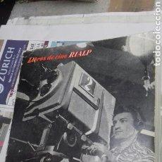 Cine: CINE Y TELEVISION.RENATO MAY.1959. Lote 126164247