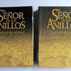 Cine: EL SEÑOR DE LOS ANILLOS. LOTE DE 60 FASCÍCULOS + 2 ARCHIVADORES + MAPA PLANETA DEAGOSTINI . Lote 128266007