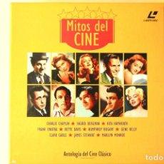 Cine: COLECCIÓN `MITOS DEL CINE´ EN LASERDISC. CONTIENE 10 PELÍCULAS.. Lote 128570319