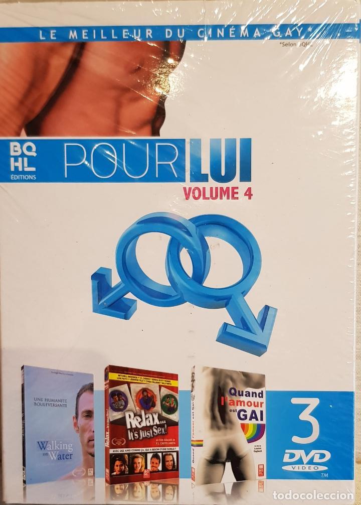 LE MEILLEUR DU CINEMA GAY / POUR LUI - VOLUME 4 / PACK 3 DVD-PRECINTADOS / EDITA BQHL (Cine - Varios)