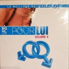 Cine: LE MEILLEUR DU CINEMA GAY / POUR LUI - VOLUME 4 / PACK 3 DVD-PRECINTADOS / EDITA BQHL. Lote 171815418