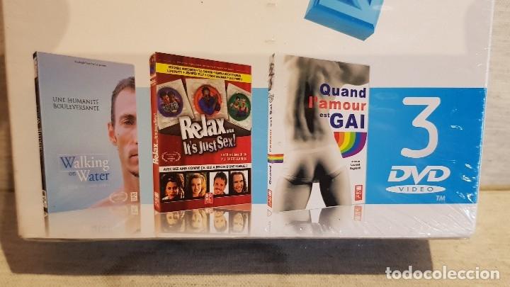 Cine: LE MEILLEUR DU CINEMA GAY / POUR LUI - VOLUME 4 / PACK 3 DVD-PRECINTADOS / EDITA BQHL - Foto 2 - 171815418