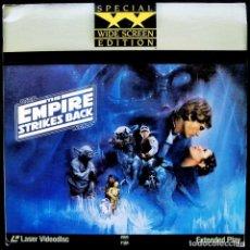 Cine: STAR WARS. EL IMPERIO CONTRAATACA. LASER DISC. 2 DISCOS. EDICIÓN ESPECIAL. VERSIÓN USA. AÑO: 1989.. Lote 130853528