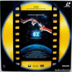 Cine: E.T. EL EXTRATERRESTRE. STEVEN SPIELBERG. LASER DISC. VERSIÓN ESPAÑOLA. AÑO: 1990. BUEN ESTADO.. Lote 295520393